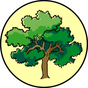300x300 Laurel Tree Clip Art