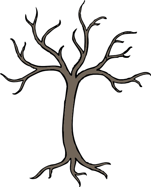 480x595 Bare Dead Tree Clip Art