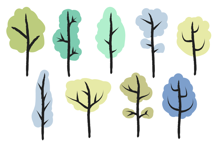 700x490 Free Trees Vector