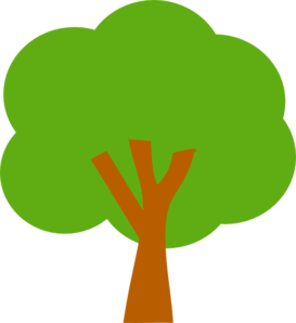 273x298 Green Tree Vector