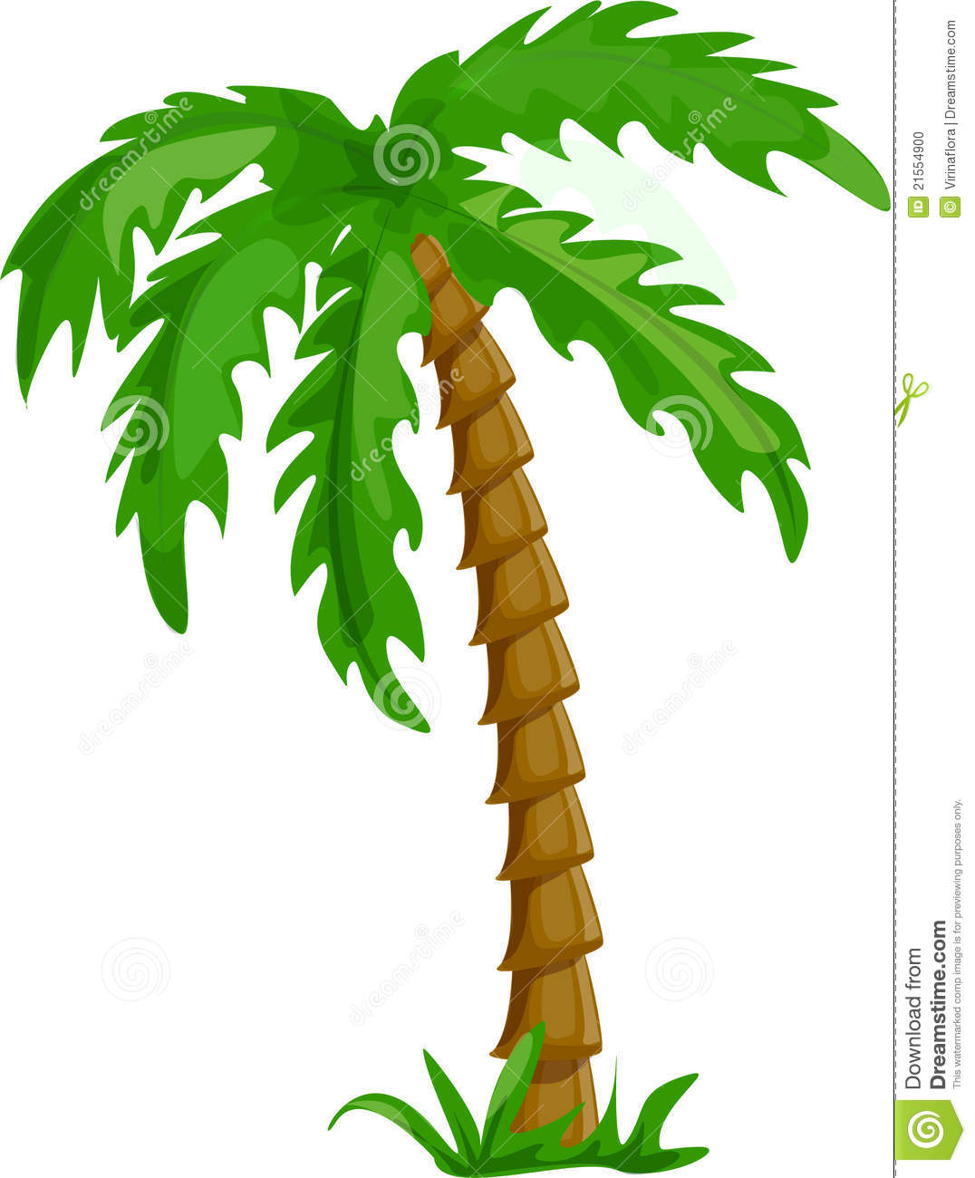 1076x1300 Palm Tree Clipart Vector