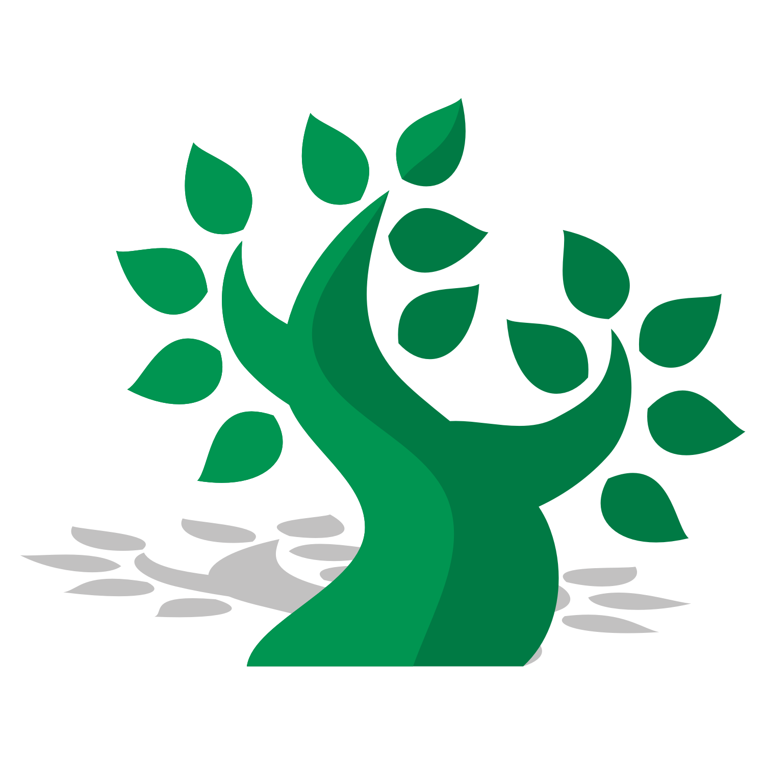 1500x1500 Vector For Free Use Green Tree Vector