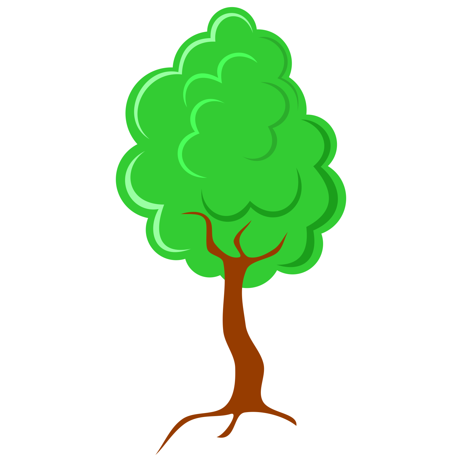1500x1500 Vector For Free Use Small Tree