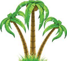 236x214 9 Jungle Trees Amp Grasses Vector Set