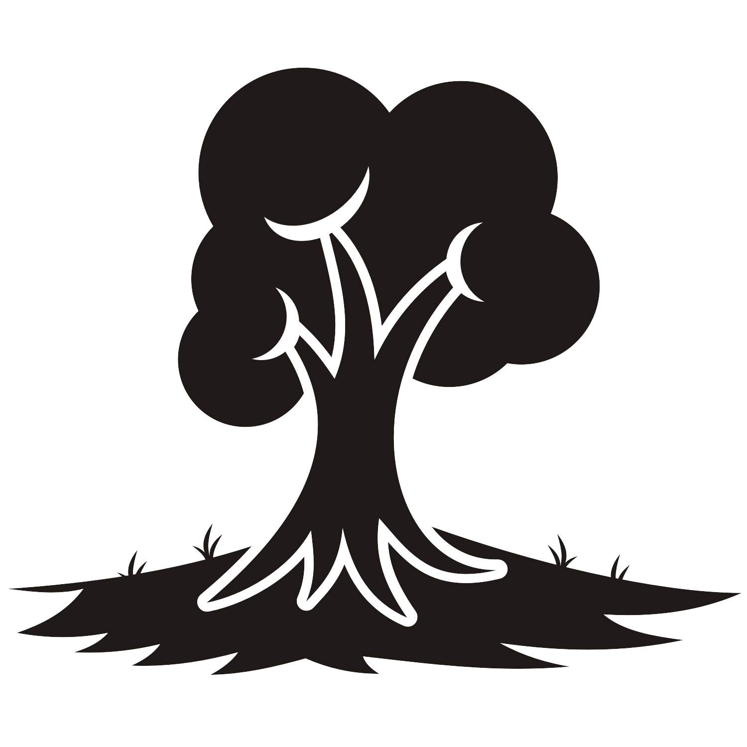 1500x1500 Vector For Free Use Tree Vector