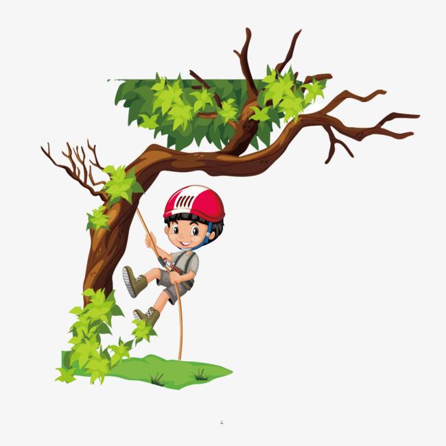 650x651 Boy Climbing A Tree, Vector, Movement, Outdoor Png And Vector