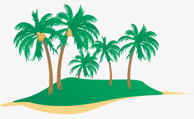650x400 Coconut Tree Vector, Coconut Tree, Vector Png And Vector For Free