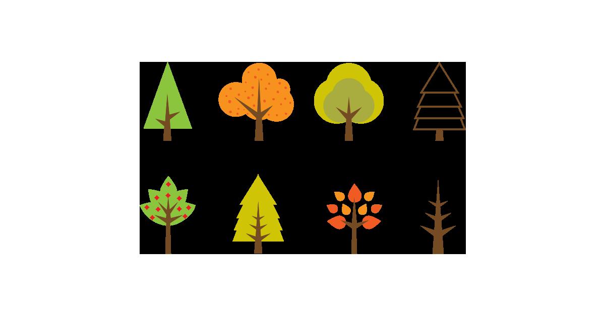 1200x628 Wallpaper And Desktop For Pc Seasonal Tree Illustration Free