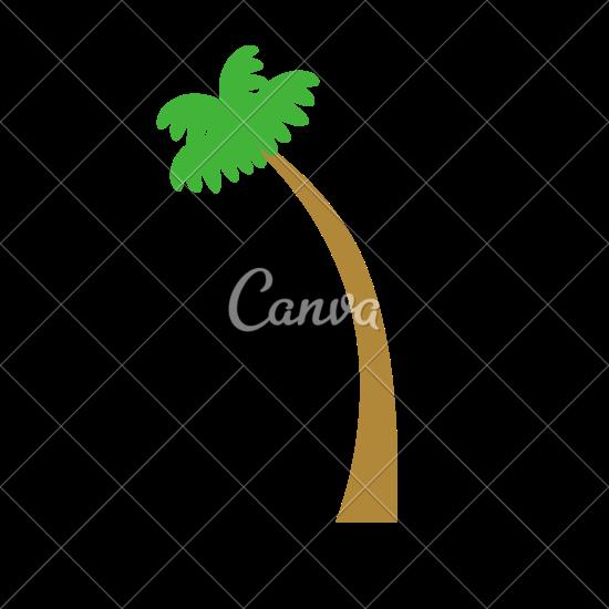 550x550 Coconut Tree Vector