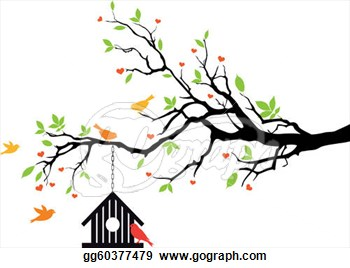 Tree With Birds Clipart Free Download Best Tree With Birds Clipart