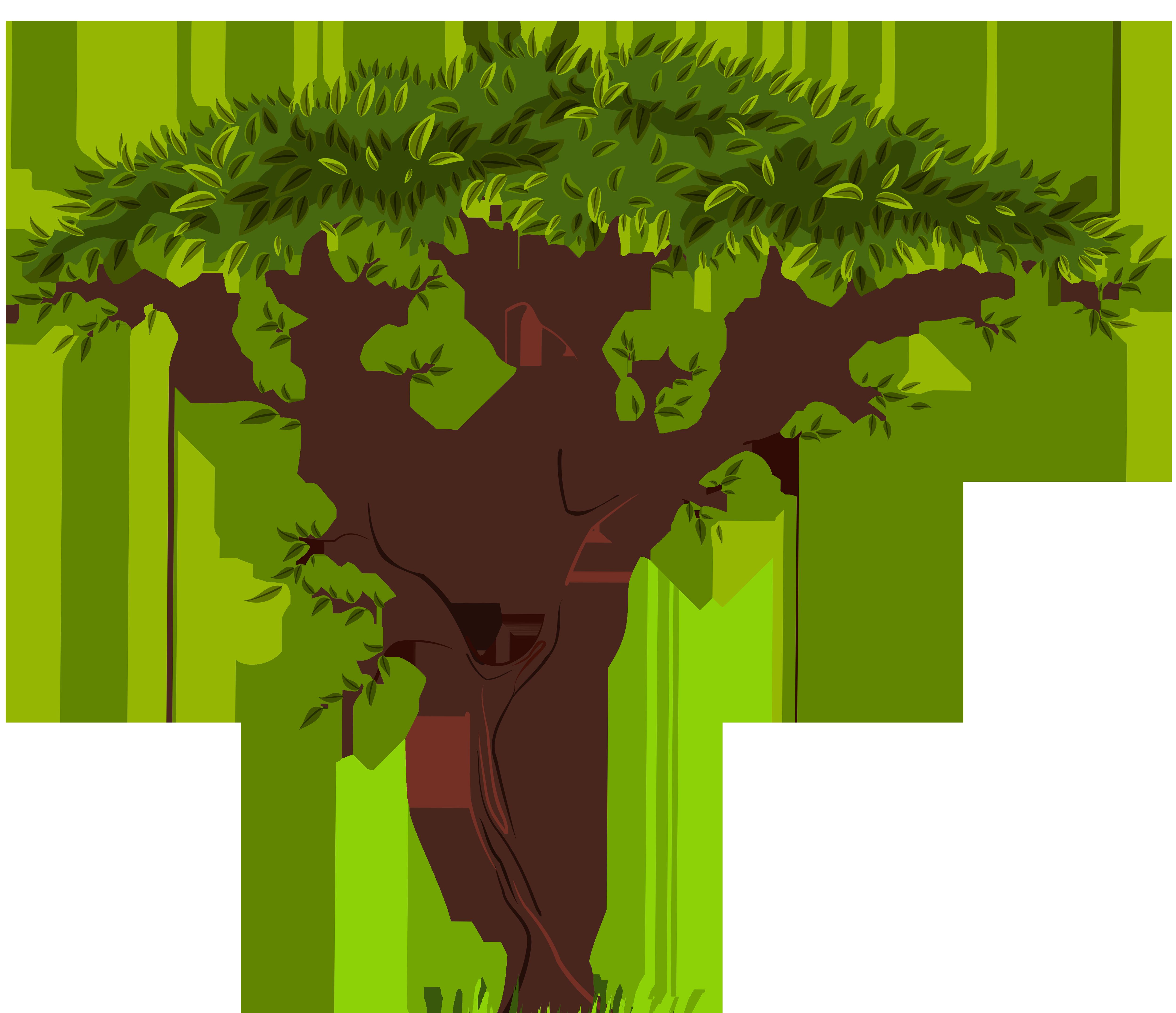 5000x4307 Exotic Tree Png Clip Art
