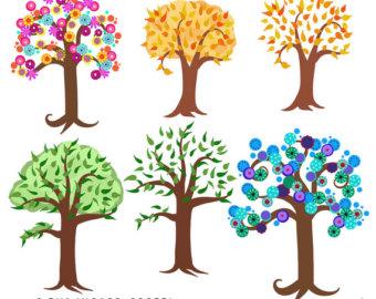 340x270 Tree Clipart Etsy