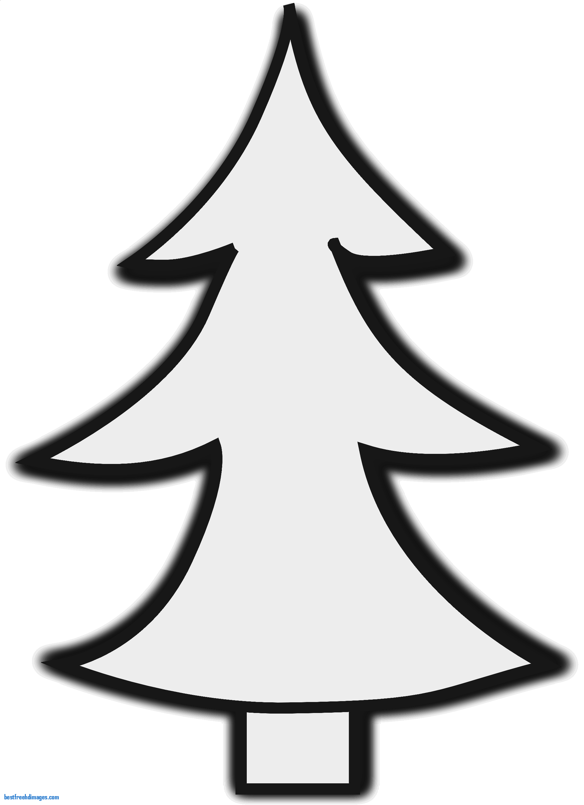 Bare Christmas Tree Clipart.Trees Clipart Black And White Free Download Best Trees