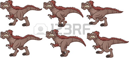 450x204 T Rex Fossil Vector Clip Art Illustration With Simple Gradients