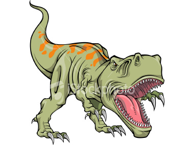 380x285 Tyrannosaurus Rex Clipart Velociraptor