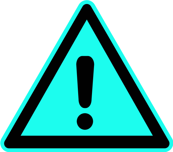 600x528 Exclamation Point Warning Sign Exclamation Mark Triangle Vector