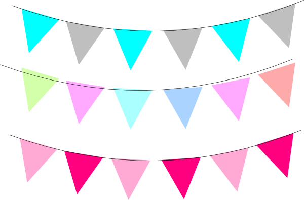 Triangle Flag Banner Clipart | Free download on ClipArtMag