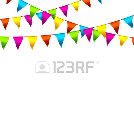 Triangle Flag Clipart
