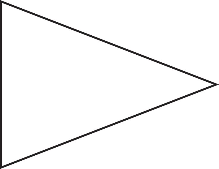 Triangle Shape Clipart | Free download on ClipArtMag