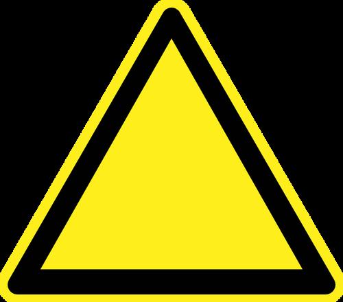 500x440 8959 Blank Warning Sign Clip Art Public Domain Vectors