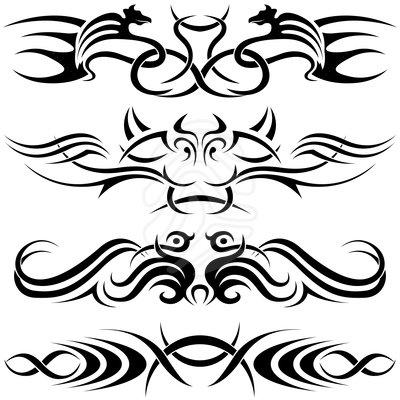 400x400 Tribal Clipart Tribal Pattern