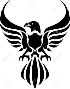 236x300 Eagle Tribal Tattoo Design Bald Eagle Tribal Tattoo Designs