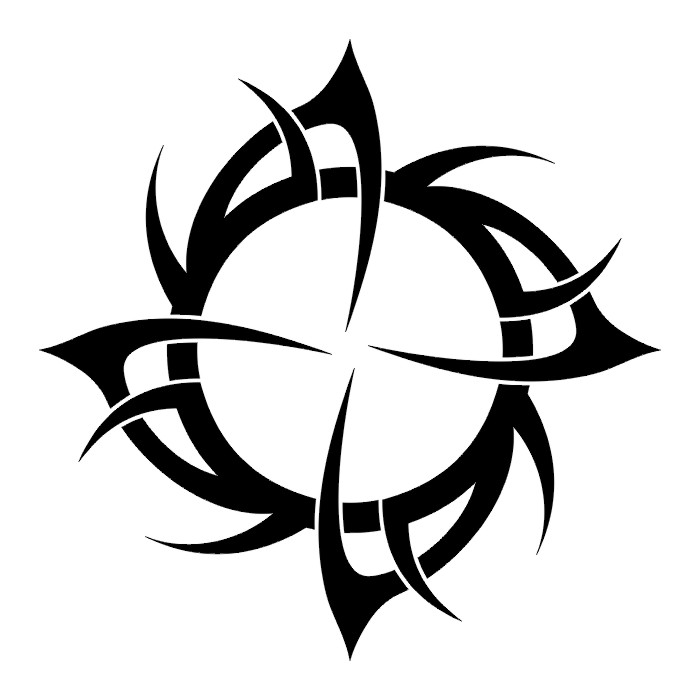 6ab2f1c0bb4f0 Tribal Crow Tattoo Designs Clipart   Free download best Tribal Crow ...