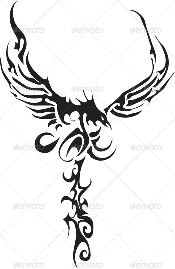 tribal crow tattoo designs clipart free download best tribal crow tattoo designs clipart on. Black Bedroom Furniture Sets. Home Design Ideas