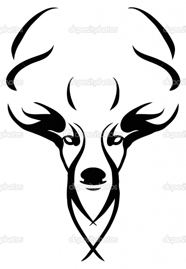708x1024 Deer Skull Drawings Images Of Deer Skull Clip Art Pictures