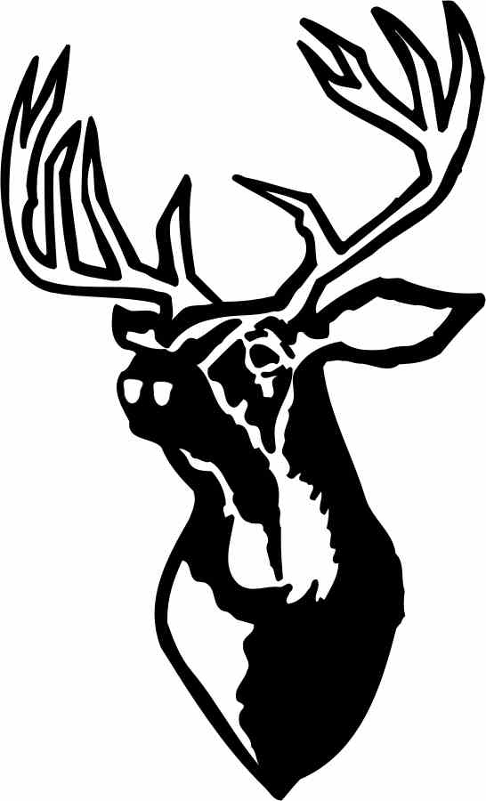 546x900 Tribal Deer Head