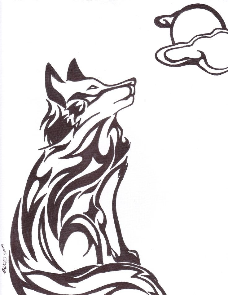 736x952 33 Best Tattoos For Men Tribal Wolf Sketches Images