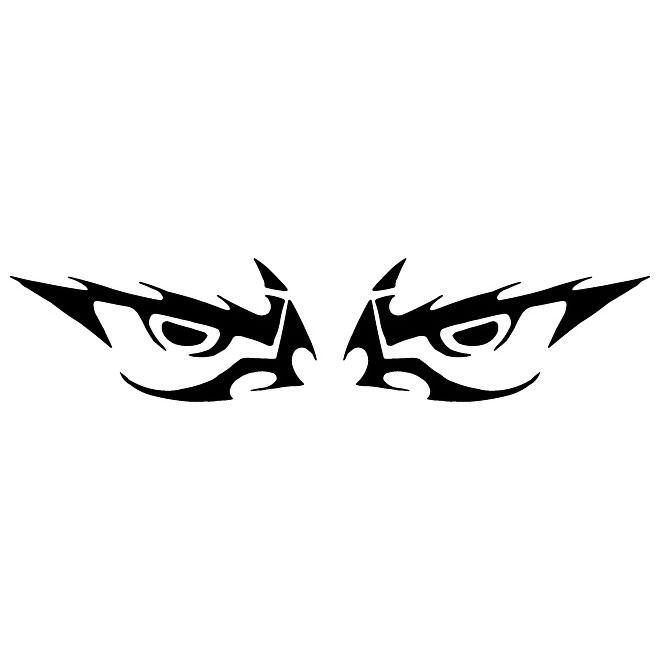 660x660 Evil Eyes Vector Clip Art