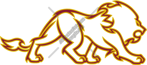 500x220 Tribal Lion Body Graphic Clipart And Vectorart Graphics