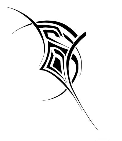 400x464 Tribal Tattoo Design By Studiumdesign