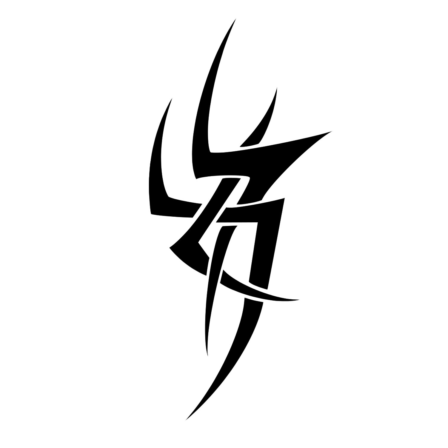 1501x1501 Tribal Tattoo Vector 2 (Svg, Png)