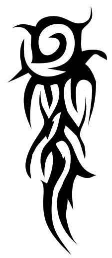 225x520 Tribal Tattoos Png Transparent Tribal Tattoos.png Images. Pluspng