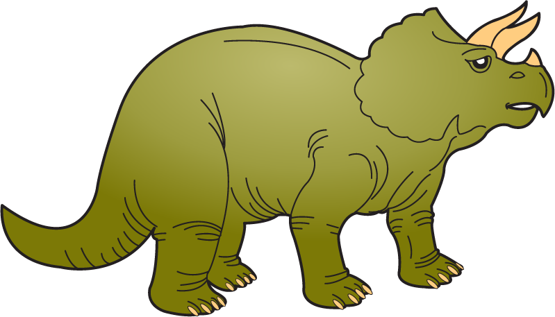 799x457 Dinosaur Clipart Triceratops