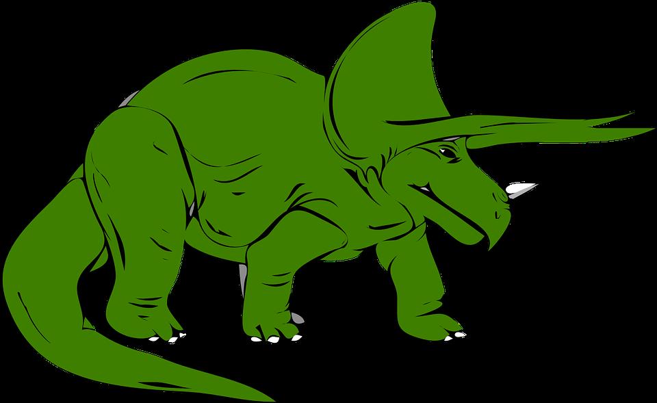 960x589 Extinct Clipart Triceratops