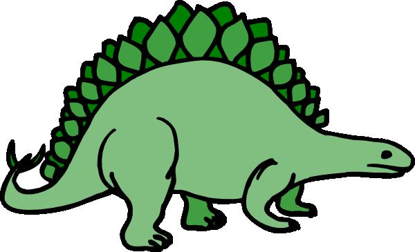 600x365 Simple Stegosaurus Art Clip Art