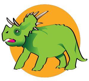 299x272 Triceratops Clip Art Adventure Mom Clip Art