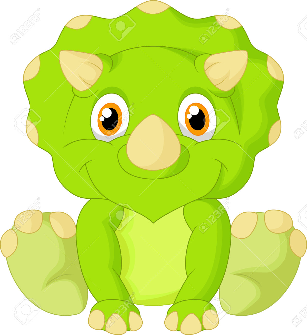 1192x1300 Baby Clipart Triceratops
