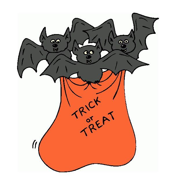 Trick Or Treat Bag Clipart