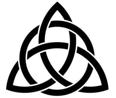 383x323 Holy Trinity Symbols Clipart