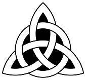 170x158 Trinity Knot Clip Art