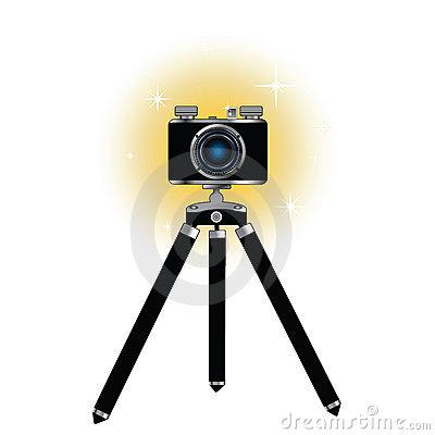 400x400 Camera Tripod Clipart