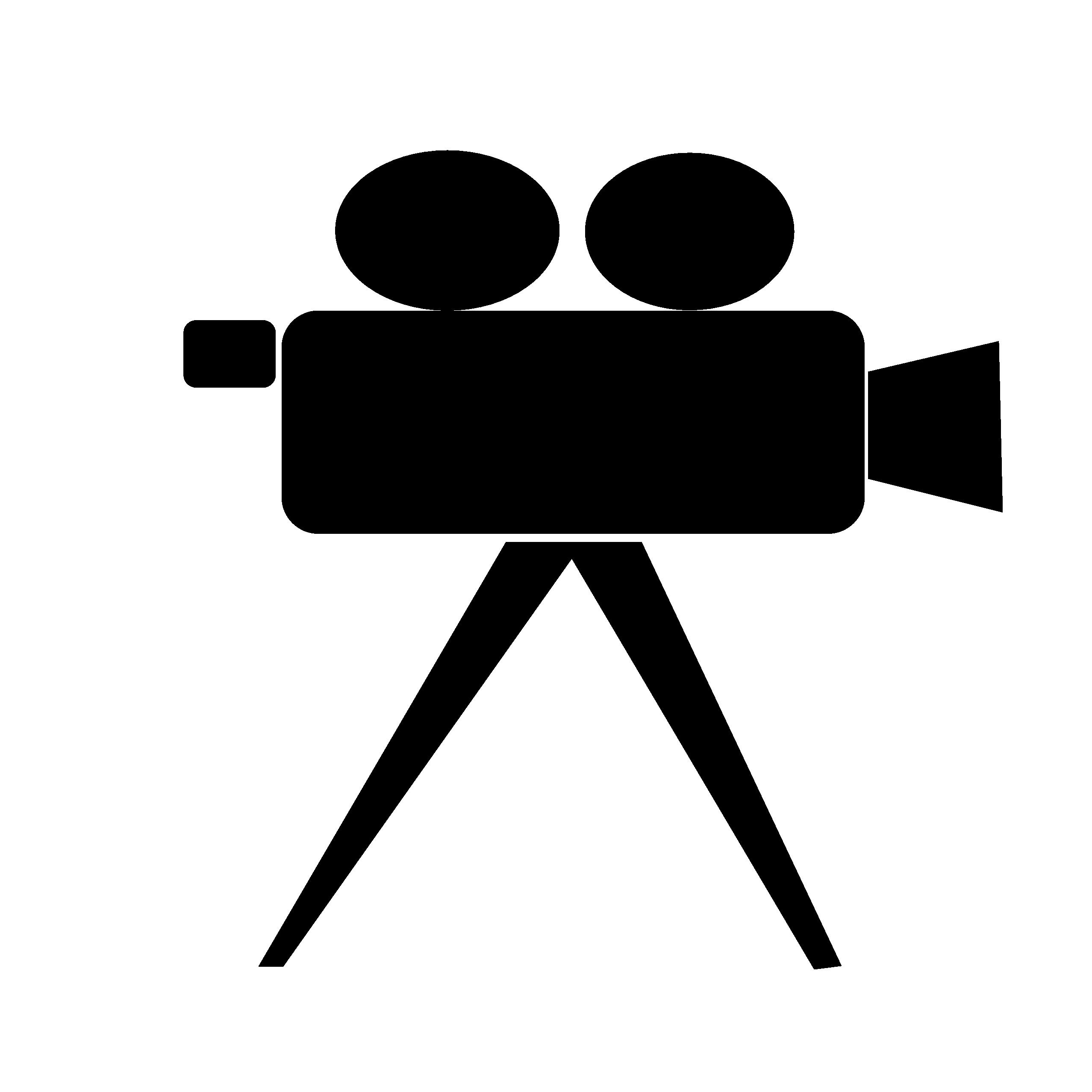 2555x2555 Video Camera Clip Art