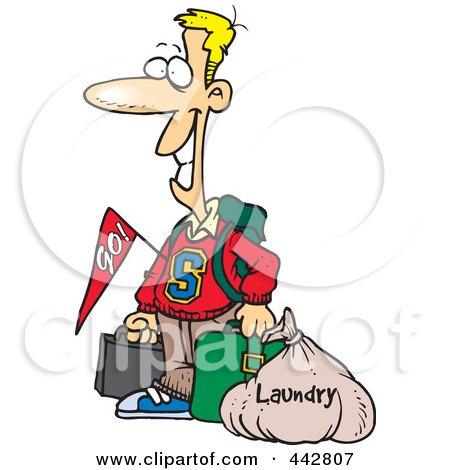 450x470 Royalty Free (Rf) Clip Art Illustration Of A Cartoon Man Tripping