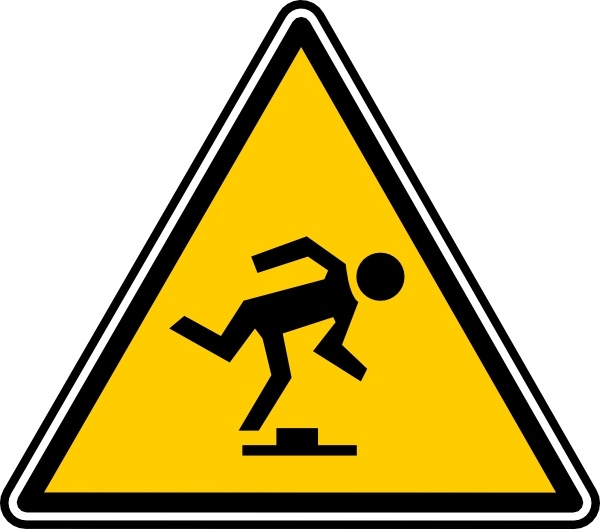 600x529 Tripping Hazard Clip Art Free Vector In Open Office Drawing Svg