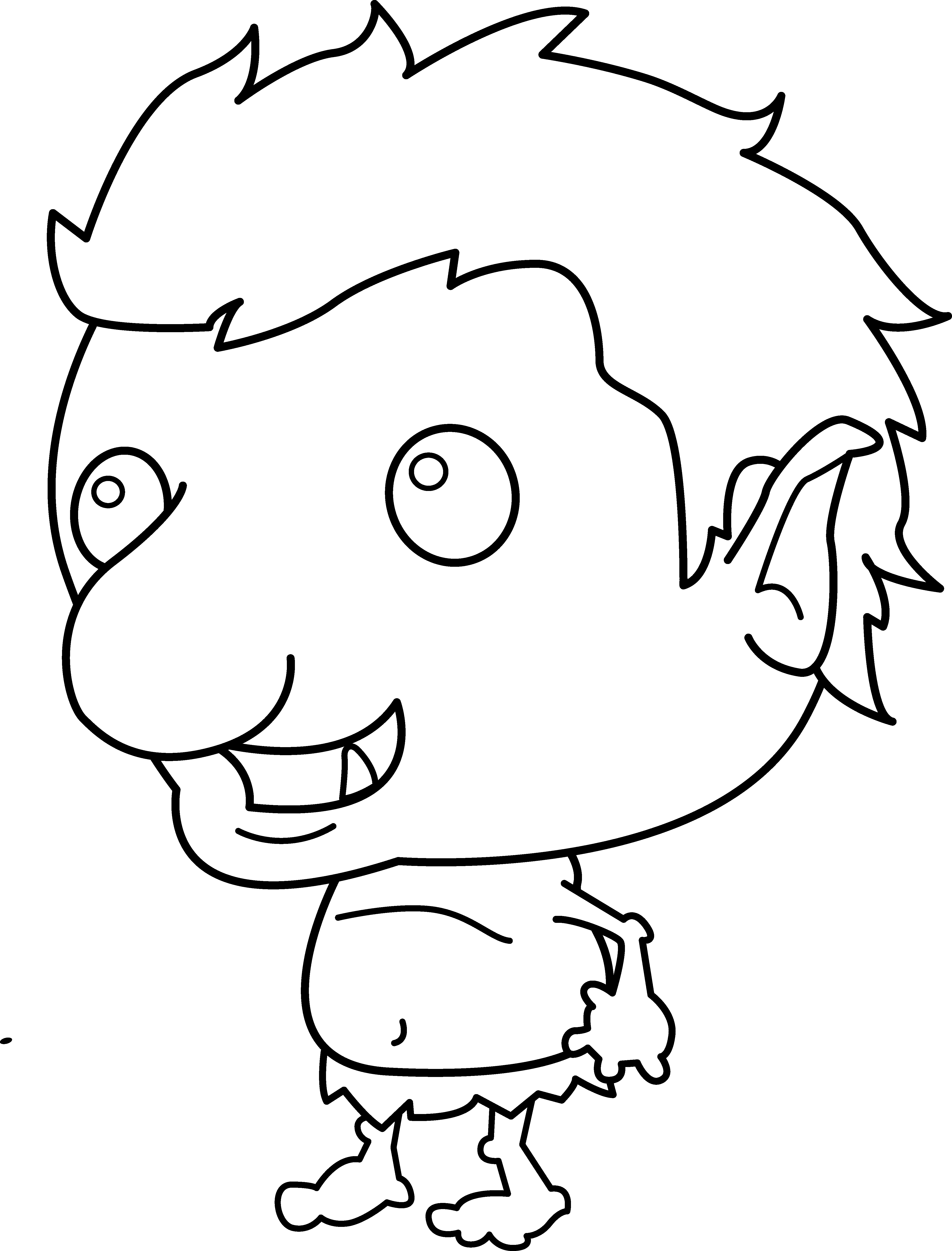 Captivating 4497x5909 Little Troll Line Art