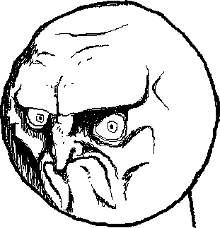 311x323 Angry Troll Face Png By Nfc By Ninetailsfoxchan